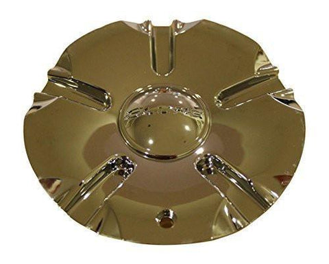 Elure 003 Hoyo H4 Chrome Wheel Rim Center Cap MCD8157YA03 CSH4-1P MCD8157YA01 - The Center Cap Store