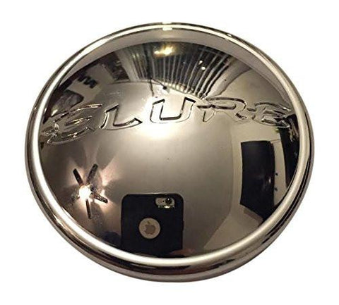 Elure Wheels CC378-C1P SJ806-03 Chrome Wheel Center Cap - The Center Cap Store