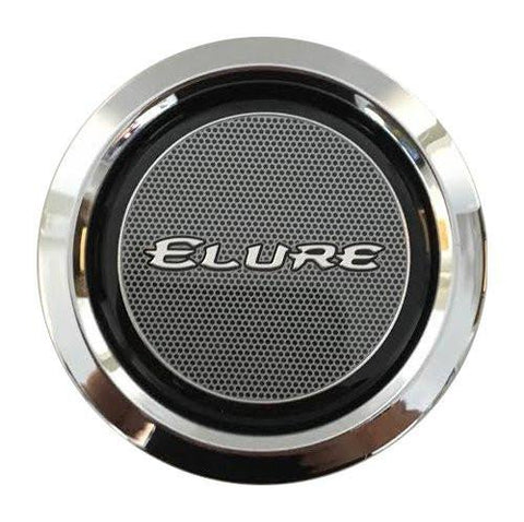Elure Wheels CCVE70-1P Chrome Wheel Snap In Center Cap - The Center Cap Store