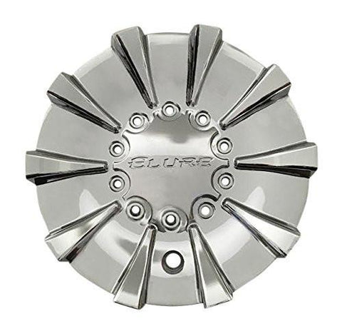 Elure Wheels CS337-D1P SJ708-21 Chrome Wheel Center Cap - The Center Cap Store