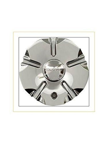 Elure Wheels CSH4S-A1P Chrome Center Cap Also Fits Hoyo CSH4S-1P - The Center Cap Store