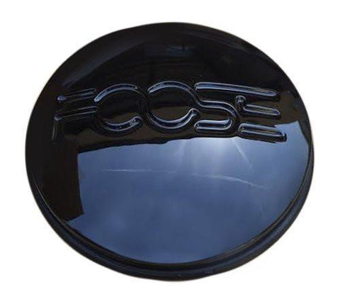 Foose 1000-39B 1000-33 S208-07 X1834147-9SF Black Center Cap - The Center Cap Store