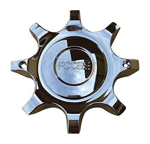 Foose Wheels F108-05 4500-55 Chrome Center Cap - The Center Cap Store