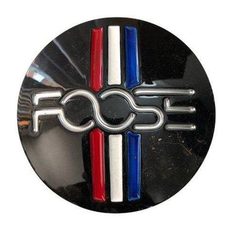 Foose Wheels M-858BK01 USED Black Wheel Center Cap - The Center Cap Store