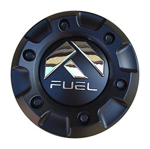 Fuel 1001-58CEN-B Matte Black Center Cap CAP M-447 ST-MQ804-150 - The Center Cap Store