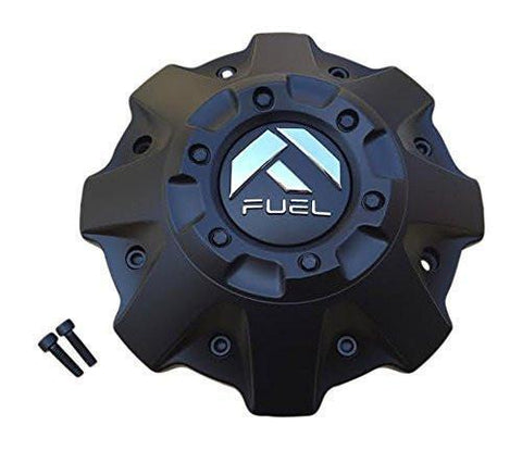 Fuel Black Center Cap 1001-63BR CAP M-447 ST-MQ804-150 5 and 6 Lug - The Center Cap Store