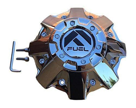 Fuel Offroad 1001-63 Chrome Center Cap CAP M-542-2 - The Center Cap Store
