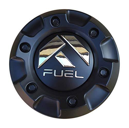 Fuel Wheels 1001-58CEN-B Matte Black Center Cap - The Center Cap Store