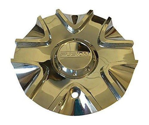 Fusion Nitro CAP661L196 Chrome Wheel Center Cap - The Center Cap Store