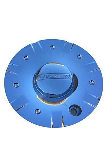 "Fusion Signal Chrome Wheel Center Cap EE770 T861 17"" and 18"" - The Center Cap Store"