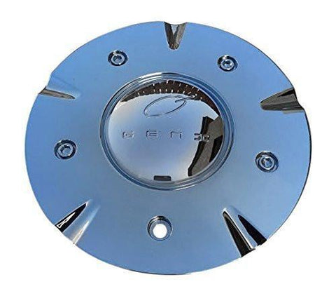 GEN X GENX Chrome Wheel Center Cap EMD02-GX-7 - The Center Cap Store