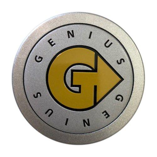 Genius Wheels PCH61 PSCH61GSV1 Silver Center Cap CCGED - The Center Cap Store