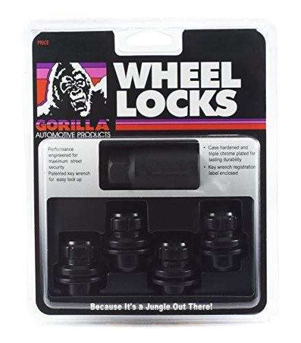Gorilla Automotive 73631TBC Locking Lug Nuts & 1 Key for Toyota/Lexus Aluminum Wheels - Set of 4 - The Center Cap Store