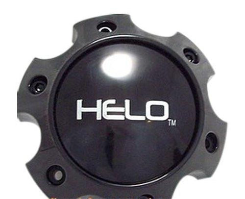 HELO 1079L140HE1GB Center Cap Fits 6x135 Ford Gloss Black - The Center Cap Store