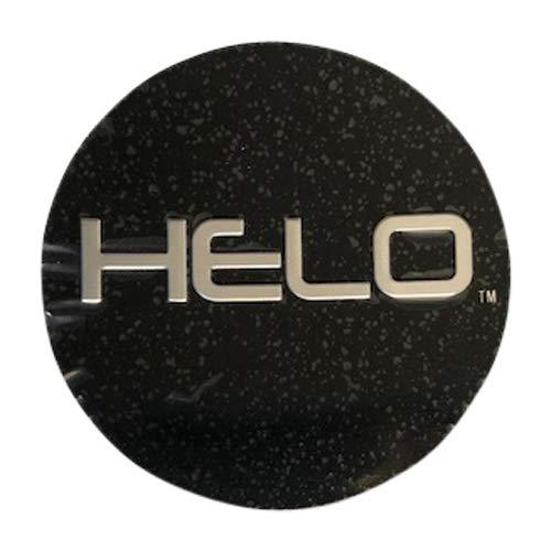 Helo 866 Wheel Black Replacement Sticker HE866L174-B - The Center Cap Store