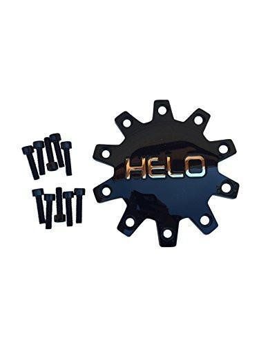Helo 875 M-875-2 M875-3 Black Wheel Center Cap - The Center Cap Store