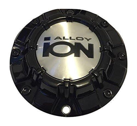 Ion Alloy 186 81011580-1-CAP C10186B03 Black Wheel Center Cap - The Center Cap Store
