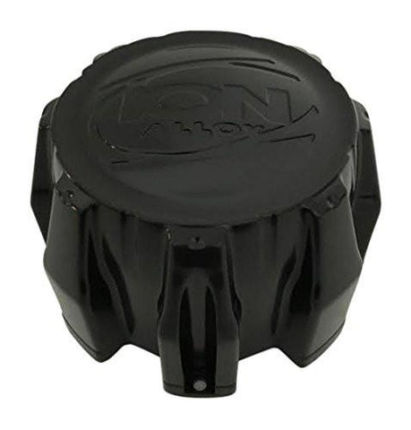 Ion Alloy 8 Lug Black C-202201 C101710MB C10143 Center Cap MCD8245YA03B0 - The Center Cap Store