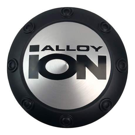 Ion Alloy Wheels C1016604MB Matte Black Snap in Center Cap - The Center Cap Store