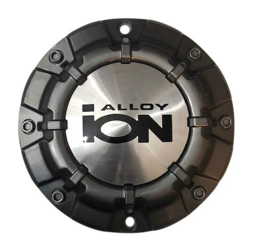 Ion Alloy Wheels C10186G02 81011680-1-CAP Gray Center Cap - The Center Cap Store