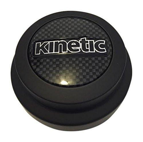Kinetic Kia C425MB-KMS Black Wheel Center Cap - The Center Cap Store