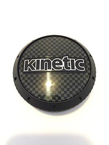Kinetic Kia C425MB-V Black Wheel Center Cap - The Center Cap Store
