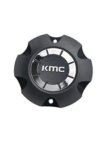 KMC Wheels M1051-BK09 Cap M-1051-2 Satin Black Center Cap - The Center Cap Store