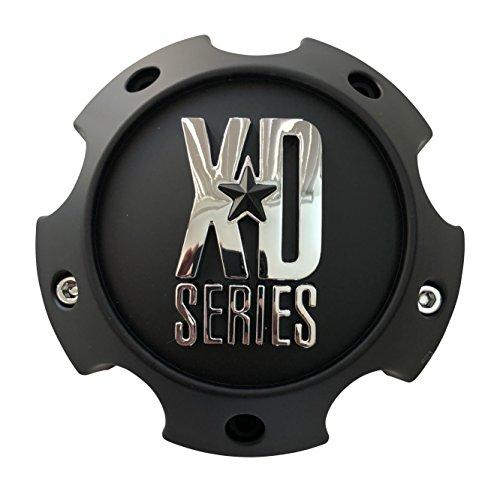 KMC XD Series 1079L145AMB Matte Black Center Cap Fits 5x139.7 5x5.5 - The Center Cap Store