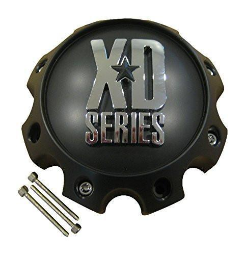 KMC XD Series 441 796 797 798 800 801 8 Lug Matte Flat Black Center Cap 1079L170 - The Center Cap Store