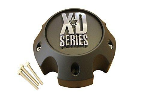 KMC XD Series 796 797 798 Matte Black 5 Lug Wheel Rim Center Cap 1079L140A - The Center Cap Store