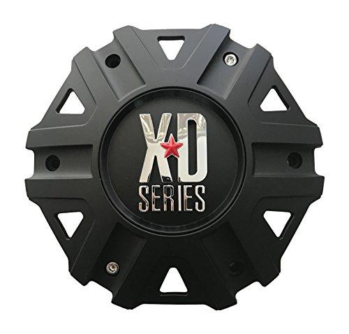 KMC XD Series M-959-1 Matte Black Wheel Center Cap - The Center Cap Store
