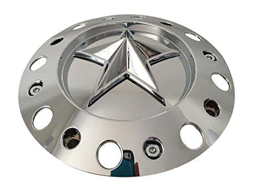 KMC XD Series Rockstar 1001775 Short Chrome Center Cap Fits 20x8.5 22x9.5 - The Center Cap Store