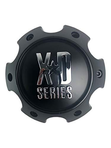 KMC XD Series Wheels 1079L145SGB-H42 Satin Black Center Cap - The Center Cap Store