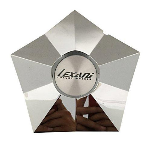 Lexani Kronix Hazard Wheels CAPF-035 FERVENT Chrome Wheel Center Cap - The Center Cap Store