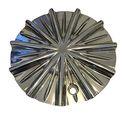 Lexani Strada Massiv PD-CAPSX-P1101 Chrome Wheel Center Cap - The Center Cap Store