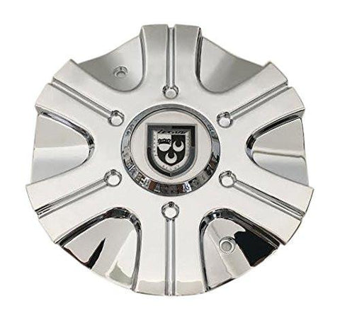 Lexani Wheels 006-2810-CAP LG1008-69 Chrome Wheel Center Cap - The Center Cap Store