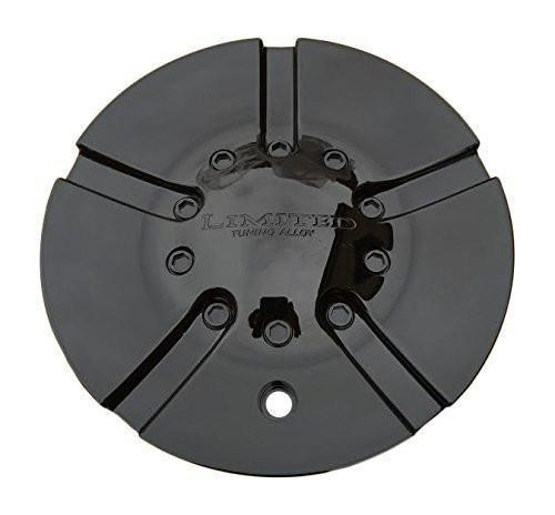 Limited Tuning Alloy Wheels C963-2 Gloss Black Center Cap - The Center Cap Store