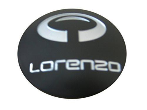 Lorenzo WL032 Matte Flat Black Wheel Rim Snap In Center Cap WL032K65 WL032 - The Center Cap Store