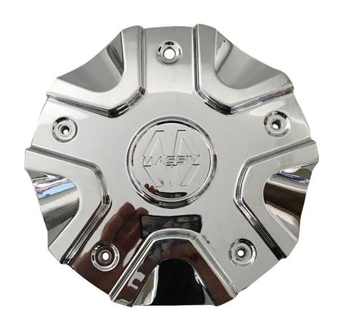 Massiv Wheels CS458-1P SJ1110-02 Chrome Wheel Center Cap - The Center Cap Store