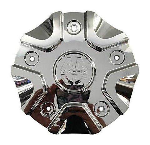 Massiv Wheels CS458-2P40C Chrome Wheel Center Cap - The Center Cap Store