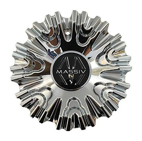 Massiv Wheels P1058-2495 Chrome Wheel Center Cap - The Center Cap Store