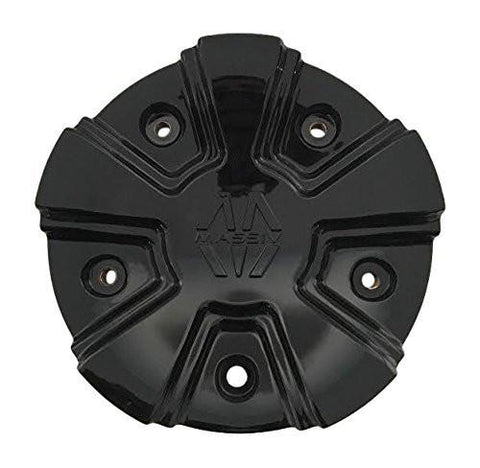 Massiv Wheels PD-CAPSX-P5123 Black Wheel Center Cap - The Center Cap Store