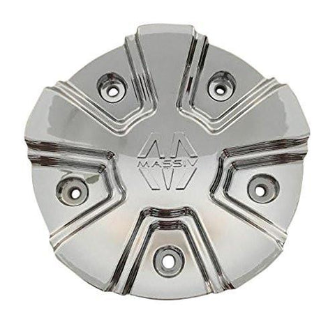 Massiv Wheels PD-CAPSX-P5123 Chrome Wheel Center Cap - The Center Cap Store