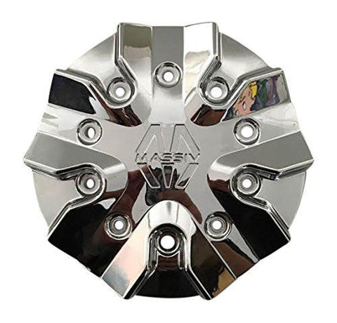 Massiv Wheels PD-CAPSX-P5151-20/22 J15 Chrome Wheel Center Cap - The Center Cap Store