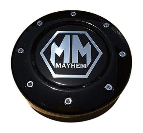 Mayhem C1080504B 81232090F-4 Black Center Cap Fits 5x150 Bolt Pattern - The Center Cap Store