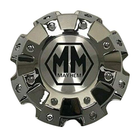 Mayhem Chrome Wheel Center Cap C108101C02-F 813120825F-1 - The Center Cap Store