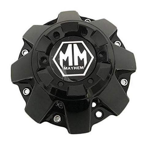 Mayhem Wheel C108070B-L C-231-4 LG1304-16 Gloss Black Center Cap - The Center Cap Store
