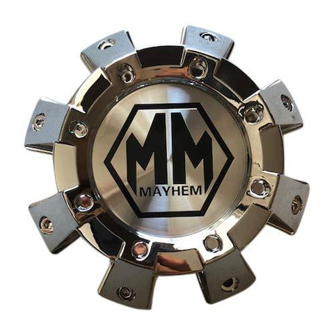 Mayhem Wheels 8101 Monstir C108101C01-F 813120825F-2 Chrome Center Cap - The Center Cap Store