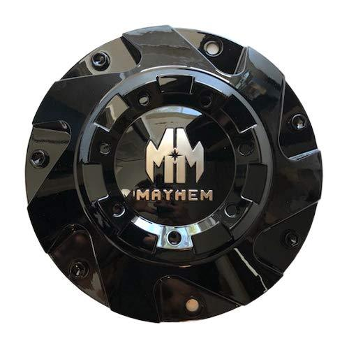Mayhem Wheels 8106 Hatchet C108106-CAP C108106B Gloss Black Center Cap - The Center Cap Store