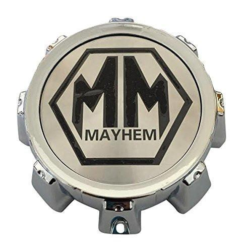 Mayhem Wheels C1018305B C1018305C MCD8237YA05AH Chrome Wheel Center Cap - The Center Cap Store